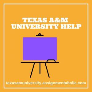 TEXAS A&M UNIVERSITY HELP